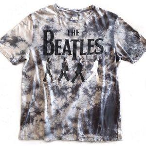 [The Beatles] Tie Dye Abbey Road Tee